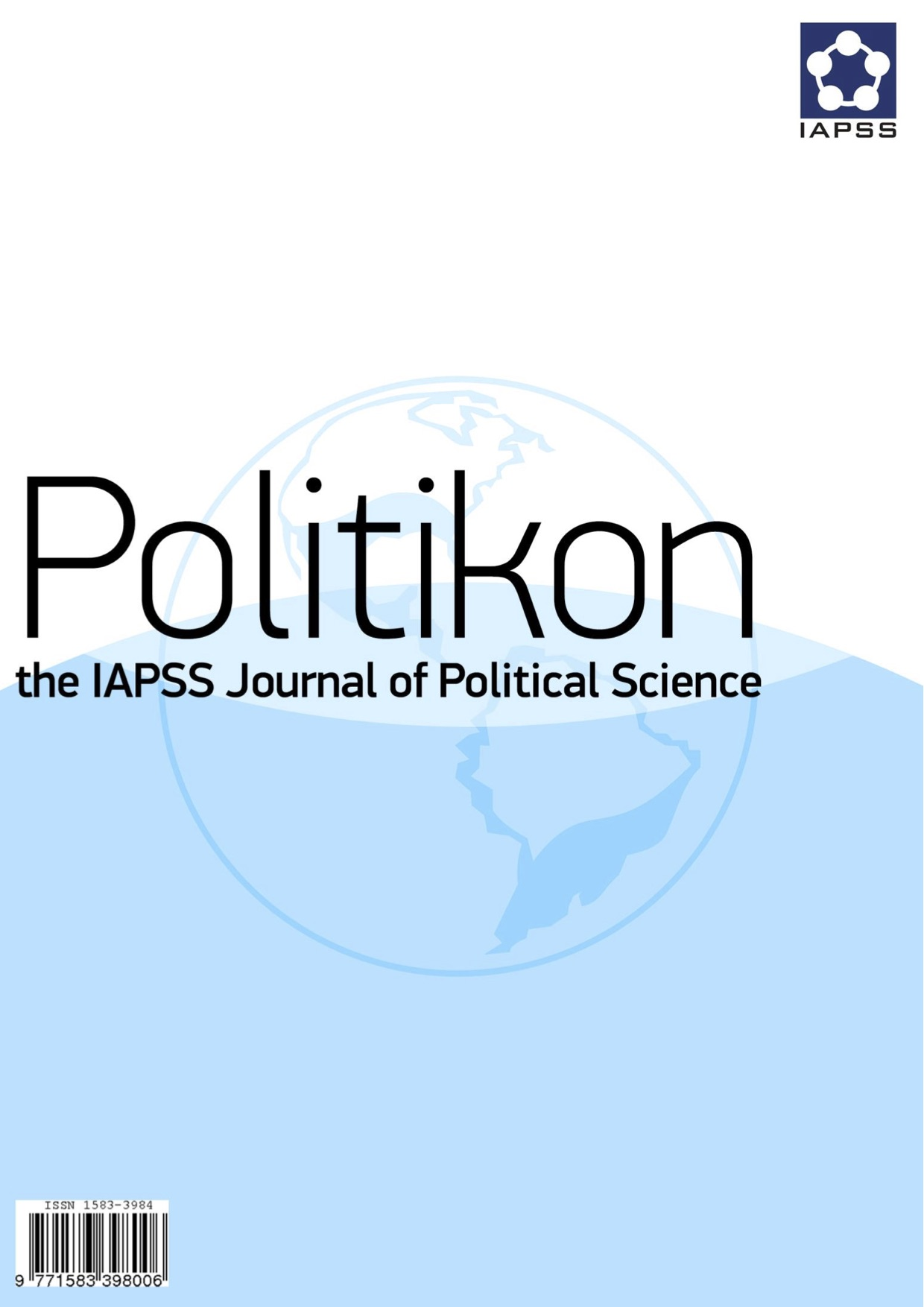 View Vol. 25 (2014): Special Issue: IAPSS Autumn Convention 2014